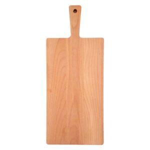 Drewniana Deska do Krojenia z rączką 48x20 - Buk_b1