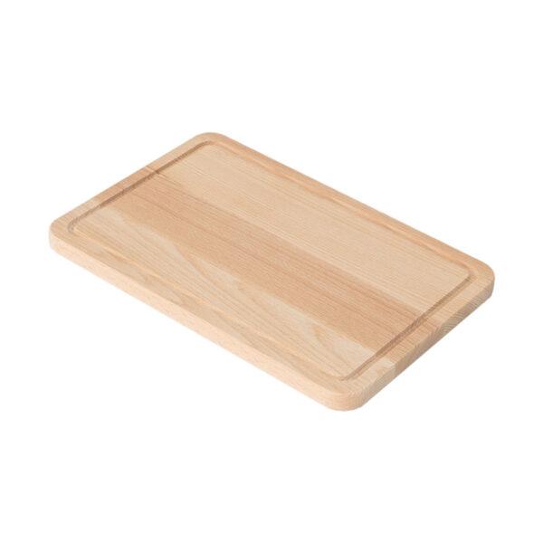 Drewniana Deska do Krojenia z rowkiem 30x20 - Buk_b2