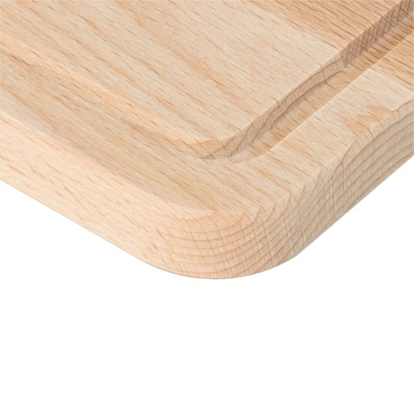 Drewniana Deska do Krojenia z rowkiem 30x20 - Buk_b3