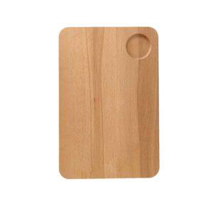 Drewniana Deska do Krojenia z dołkiem 30x20 - Buk_b1